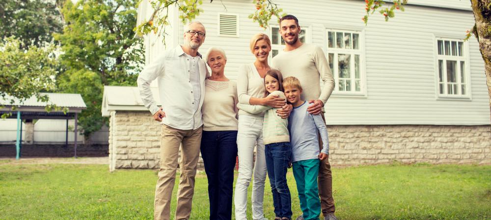 family applying for USDA Loans