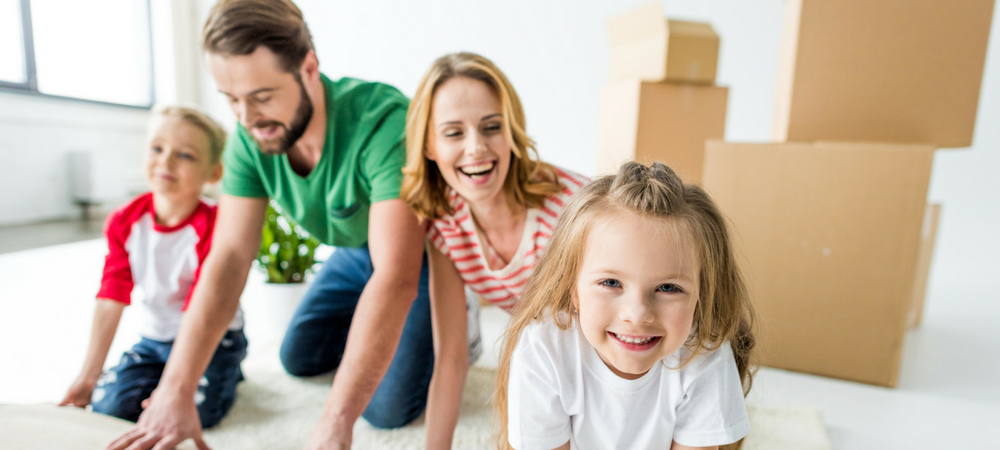 family needing Zero-Down & Low-Down Home Loans